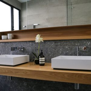 Custom bathroom joinery