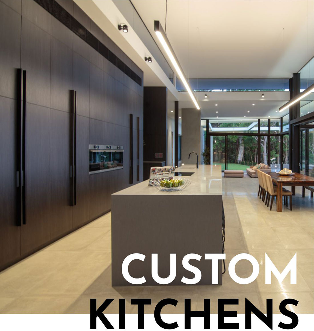 Custom kitchen joinery